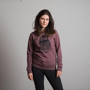 """Women Sweatshirt """"Eule 2"""" - DISKO"""