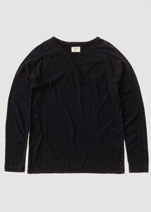 Sweater Otto Heavy Slub Black - Nudie Jeans