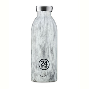 24bottles 0,5l Thermosflasche - verschiedene Wood Designs - 24bottles