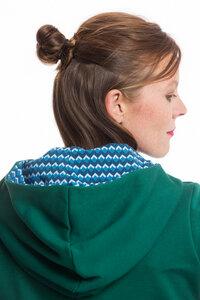 Kapuzen-Pullover Paula grün - emmy pantun