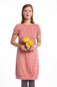 Kleid Rosa Fischgrat - emmy pantun