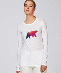Langarmshirt- Polarbär - Kultgut