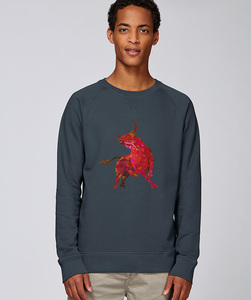 Sweatshirt mit Motiv / Redbull - Kultgut