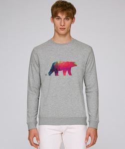 Herren Sweatshirt/ Polarbär - Kultgut