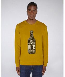 Herren Sweatshirt/ Time for a Beer - Kultgut