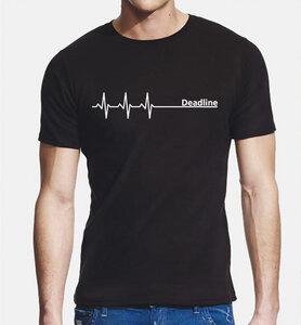 Deadline ;)  T-Shirt dicke Qualität, Enger Sitz / figurbetont - Picopoc
