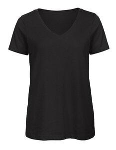 Inspire V-Ausschnitt T-Shirt / Damen / Lady  140 gr /m² bis Größe 2XL - B&C Collection