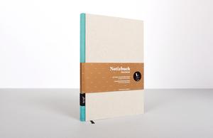 Design Notizbuch DIN A5 - Grau - tyyp