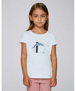 T-Shirt mit Motiv / Delphin - Kultgut