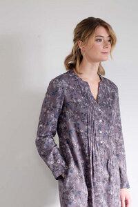 Lucy Floral Print Smock Dress - bibico