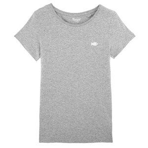 Damen T-Shirt in verschiedenen Farben mit Fisch Print Bio & Fair - Hanseat