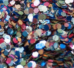 Konfetti Mix - Biologisch abbaubarer Glitzer - Glitterkram