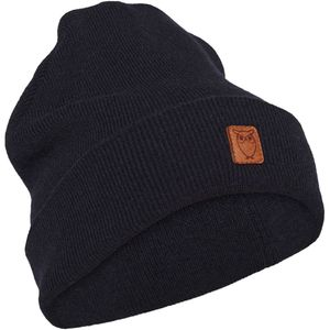 Mütze - Beanie organic wool - Total Eclipse - KnowledgeCotton Apparel