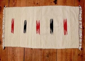 Handgewebter Kelim berber Teppich 'Indian' - LaMalve