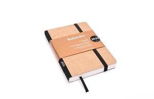 Kalender 2019 - 12-Monate-Kalender, Taschenkalender DIN A6, Handmade - tyyp