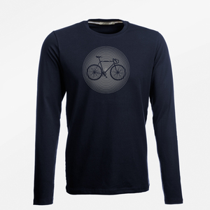 Longsleeve Jazzy Bike Circle - GreenBomb