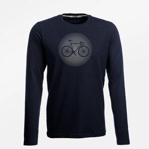 Longsleeve Jazzy Bike Circle - GreenBomb