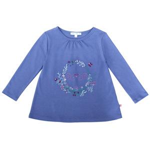 Mädchen Tunika-Shirt Blumenkranz - Enfant Terrible