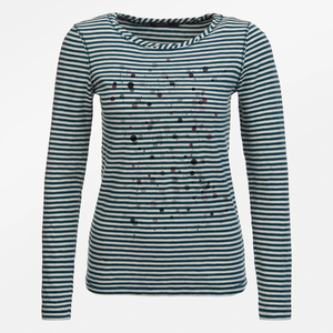 Longsleeve Charme Abstract Dots - GreenBomb