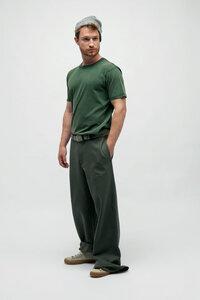 PIRIS, Vintage Washed T-Shirt für Männer Grün - Green-Shirts