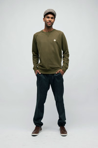 PAULO, Standard Sweatshirt aus Bio Baumwolle - Green-Shirts