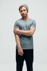 SALIX, Gestreiftes T-Shirt aus Bio Baumwolle - Green-Shirts