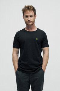 LEON, Polo Piqué T-Shirt aus Bio Baumwolle - Green-Shirts