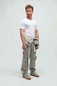 PHIL, Slim Fit T-Shirt Bio Baumwolle - Green-Shirts