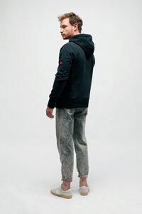 ARTHEMIS, Extra dicker Hoodie Fleece Pullover mit Kapuze - Green-Shirts
