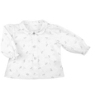 Süße Babybluse (weiß/Libelle) für große und kleine Anlässe (55670) - carl&lina