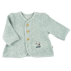 Trendige Jacke (graumeliert) in superweicher Teddy-Qualität (544110) - carl&lina