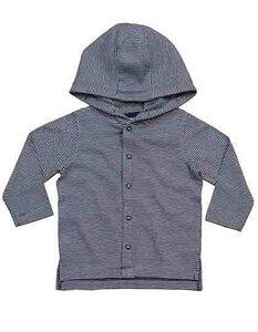 Baby Langarm T-Shirt mit Kapuze - Babybugz
