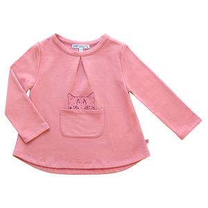 Mädchen Sweat-Shirt Katze - Enfant Terrible
