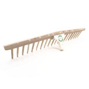 Heurechenhaupt mit Holzzinken | kompatibel mit 2,7 cm Stiel - 4betterdays
