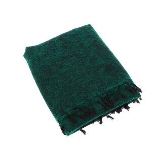 Indra - Plaid oder Wohndecke aus Nepal - Smaragdgrün - MoreThanHip