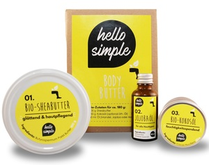 Body Butter zum Selbermachen, vegan - Hello Simple