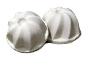 Kokosmakrone (festes Shampoo)  - Sauberkunst