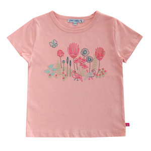 Kinder T-Shirt Blumen-Stickerei - Enfant Terrible