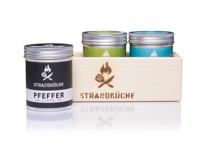 3ER SET - Kräuter-Salz-Pfeffer - Strandküche