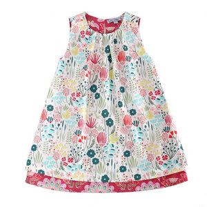 Mädchen Wende-Kleid Blumen - Enfant Terrible