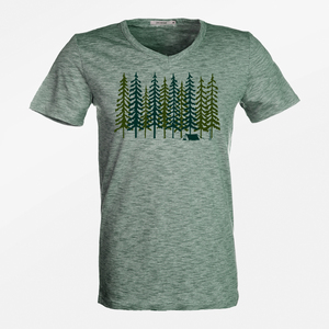 T-Shirt Peak Nature Forest - GreenBomb
