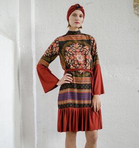 Floral dress Surah  - ManduTrap