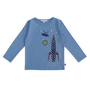 Kinder Langarm-Shirt Rakete  - Enfant Terrible