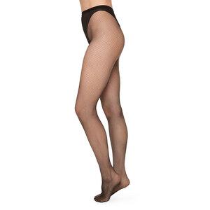 Netzstrumpfhose Liv Schwarz - Swedish Stockings