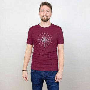 Shirt Navigator aus Modal®-Mix Aubergine - Gary Mash