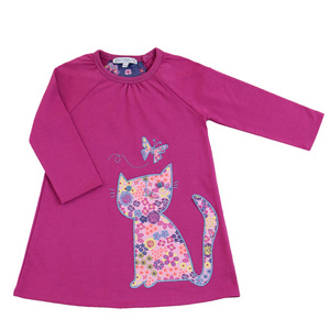 Kinder Sweat-Kleid Katze  - Enfant Terrible