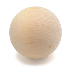 Zirbenkugel unbehandelt 7 cm - 4betterdays