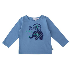Baby Langarm-Shirt Elefanten - Enfant Terrible