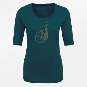 T-Shirt Deep Bike Parrot - GreenBomb