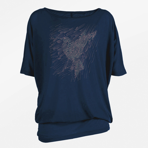 T-Shirt Relax Abstract Bird - GreenBomb